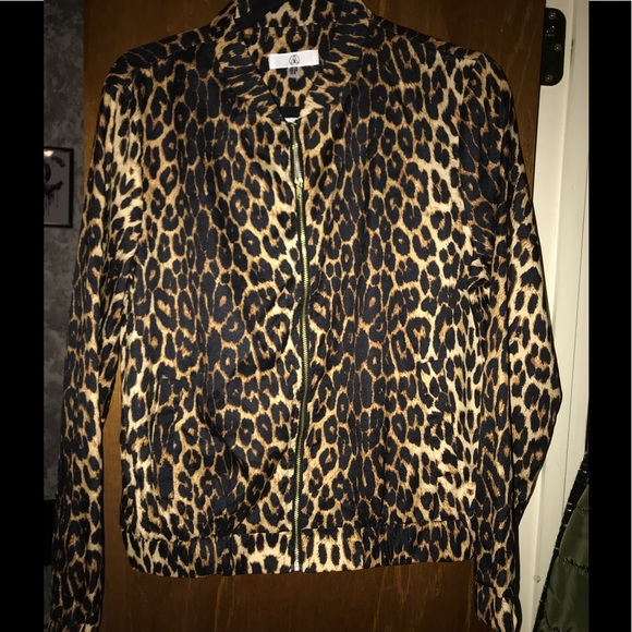 Missguided Jackets & Blazers - Leopard print bomber